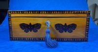 William IV Early Mosaic Tunbridge Ware Table Box (3 of 20)