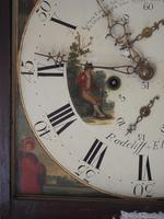 Fine English Longcase Clock Radcliff Elland 8-day Grandfather Clock with Moon Roller Dial (16 of 27)