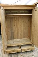 Fabulous & Exceptional Quality! Big Old Pine Double 'Knock Down' Wardrobe (8 of 17)