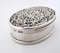 Impressive Victorian silver table snuff box Henry William Dee London 1877 (7 of 13)