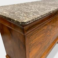 Figured Walnut & Marble Top Commode (8 of 16)