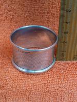 Vintage Sterling Silver Hallmarked 1960 Napkin Ring, Preece & Williscombe, London (4 of 6)