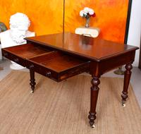 Desk Writing Table Mahogany 19th Century Victorian (5 of 11)