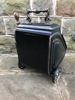 Antique Toleware Coal Scuttle Bin (9 of 9)