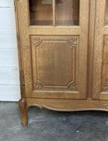 French 3 Door Oak Bookcase or Cabinet (4 of 15)