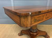 William IV Rosewood Library Centre Table (2 of 18)