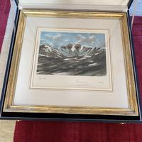 "HRH Prince Charles signed Limited Edition Artists Proof Print titled ""Lochnagar"" with fitted case and certificate of Authenticity (6 of 14)"