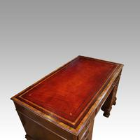 Walnut Pedestal Desk by Waring and Gillow (7 of 18)