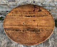 Large Georgian Oak Tilt Top Occasional Table (2 of 21)