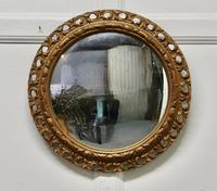 Carved Convex Gilt Wall Mirror (2 of 4)
