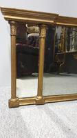 Regency Tryptic Gilt Overmantle Mirror (2 of 5)