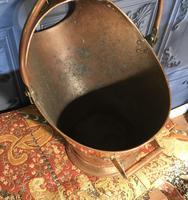 Georgian Copper Coal Scuttle (6 of 7)