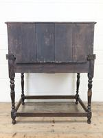 Antique Oak Carved Desk (13 of 13)