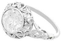 1.70ct Diamond & 18ct White Gold Solitaire Ring c.1910 (3 of 9)