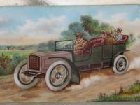 Edwardian Silver & Enamel Vintage Car Vesta Case by John Millward Banks, Chester, 1905 (3 of 15)
