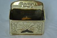 Genuine Ksia Keswick Brass Letter  Rack Post Box Keswick School of Industrial Art (2 of 5)