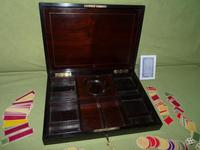Fine Quality French Inlaid Games Box c.1860 (10 of 10)