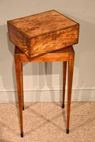 18th Century Satinwood Embroidery / Sewing Box (7 of 7)