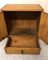 Small Primitive Cupboard with Drawer (3 of 7)
