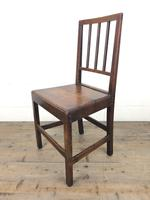 Set of Six 19th Century Welsh Oak Farmhouse Chairs (11 of 14)