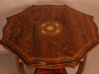 Fine Quality Rosewood Occasional Table c.1890 (2 of 6)