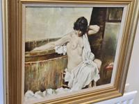 Franco Matania Nude - Italian / British Oil on Canvas (2 of 8)