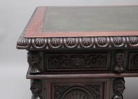 19th Century Chinese Hongmu Pedestal Desk (15 of 19)