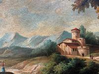 Substantial! Original Italian Landscape Oil by Follower of 17th Century Gaspard Dughet (11 of 15)