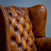 Wingback Leather Armchair (2 of 12)