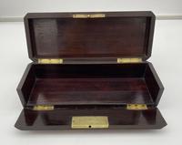 Victorian Burr Cedar Glove Box Cross Banded in Tulipwood (7 of 13)