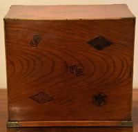 Excellent 19th Century Japanese Elm Jewellery Box / Table Cabinet (13 of 14)
