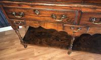 Oak Dresser Base (12 of 14)