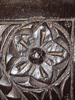 c.1570 A.D. English Tudor Carved Oak Wooden Panel (7 of 11)