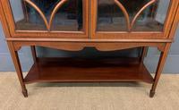 Inlaid Mahogany Edwardian Display Cabinet (3 of 12)
