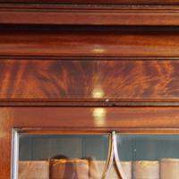 Edwardian Mahogany Library Bookcase (8 of 20)