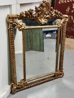 Stunning Napoleon III French Cushion Mirror (7 of 7)