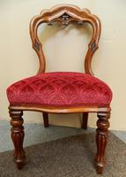 set of 8 mahogany dining chairs (4 of 7)