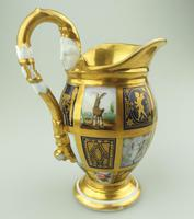 Extraordinary & Very Fine Old Paris Porcelain Gilt Jug Early 19th Century (4 of 12)