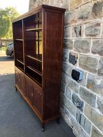 Antique Mahogany Library Bookcase (3 of 13)