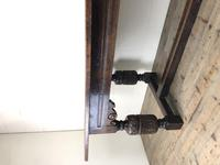 Antique Carved Oak Refectory Dining Table (4 of 15)