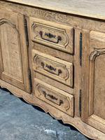 French Bleached Oak Sideboard or Dresser Base (8 of 23)