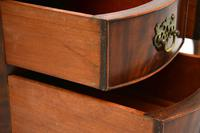 Antique Queen Anne Style Mahogany Kidney Desk / Dressing Table (2 of 11)