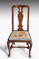 Queen Anne Period Walnut Single Chair of Elegant Shape (2 of 7)