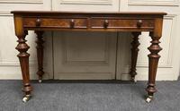 Fine Rare Burr Walnut Writing Table or Desk (2 of 20)