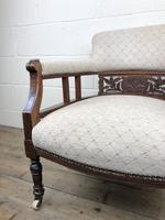 Pair of Victorian Mahogany Tub Chairs (15 of 17)