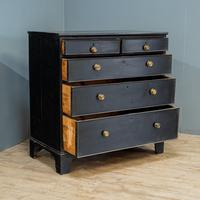 2 over 3 Painted Chest of Drawers (2 of 5)