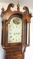 Fine English Longcase Clock Prince Hunslett 8-day Striking Grandfather Clock Solid Mahogany & Oak Case (11 of 14)