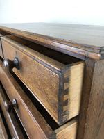 19th Century Antique Oak Chest of Drawers (4 of 12)