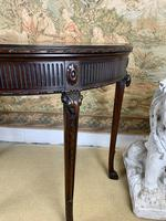 Carved Georgian Style Fold Over Card Table (5 of 8)
