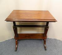 Regency Mahogany Architect's Table (5 of 7)